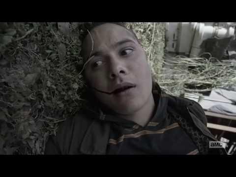 Fear The Walking Dead - 4x03 La muerte de Nick Death/Escena final
