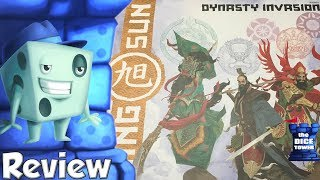Rising Sun: Dynasty Invasion Review - with Tom Vasel