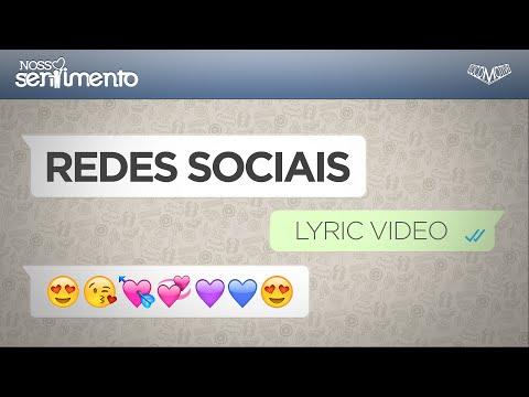 Nosso Sentimento- Rede SocialLyric Video
