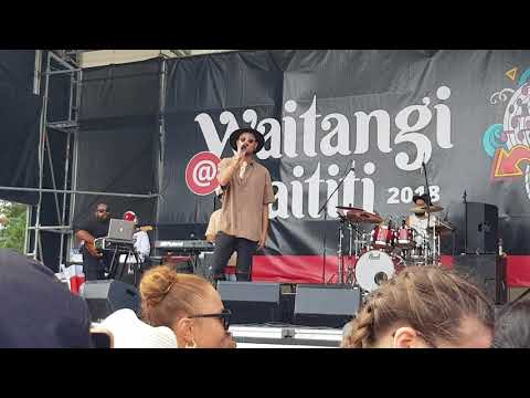 Stan Walker - Tennessee Whiskey - LIVE @ Waititi Marae