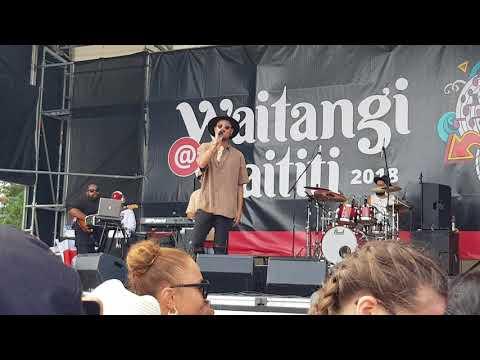Stan Walker - Tennessee Whiskey - LIVE @ Waititi Marae