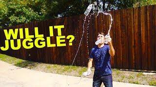 Open Water Bottles WILL IT JUGGLE?!