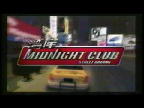 Midnight Club Street Racing Playstation 2 Video Game TV Commercial