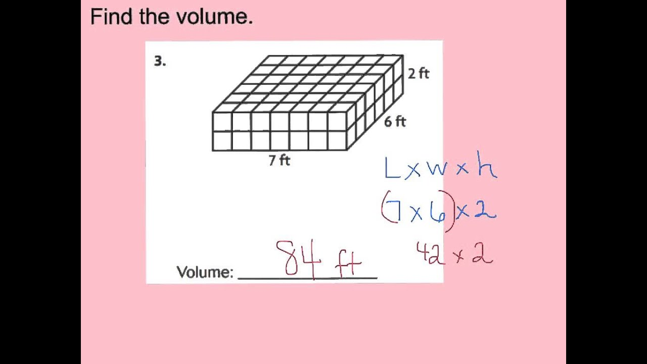 small resolution of 11.9 volume of rectangular prisms - YouTube