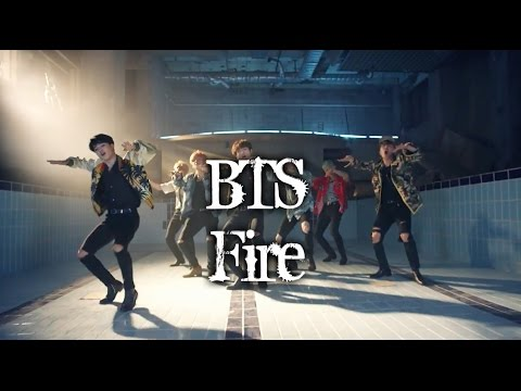 BTS - FIRE MV names/members