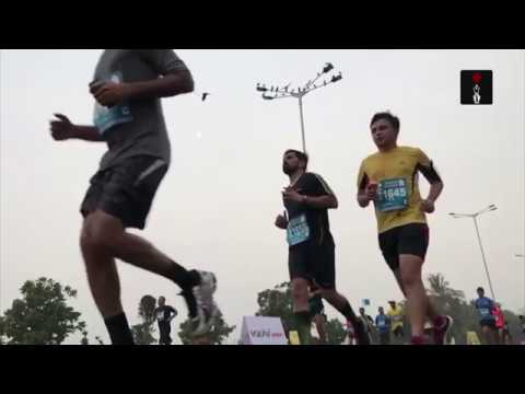Alphonce Simbu Of Tanzania Wins The 14th Edition Of Mumbai Marathon
