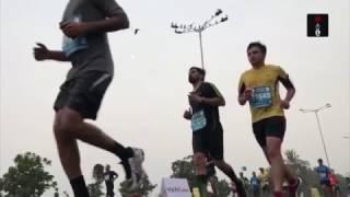 Alphonce Simbu Of Tanzania Wins The 14th Edition Of Mumbai Marathon