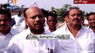 Pithapuram MLA Varma & Police Inspects CM Visited Area & Venue in East Godavari
