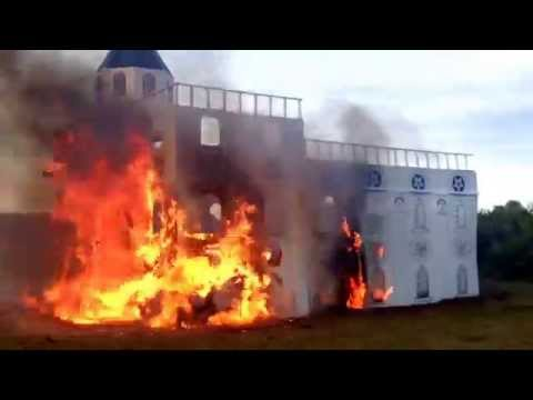 Orlando South Stake Mini Trek 2013- Nauvoo temple burning