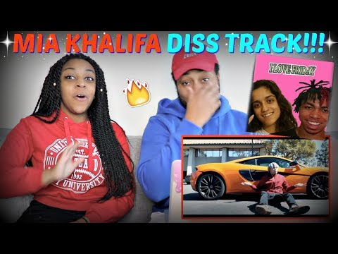 "iLOVEFRiDAY ""Mia Khalifa DISS TRACK"" REACTION!!!"