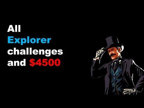 Red Dead 2: Explorer challenge guide