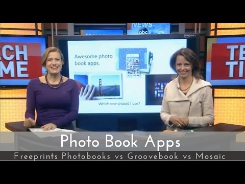 Valentine's Day Gift Photo Book Apps - Freeprints photobooks, Groovebook, & Mosaic