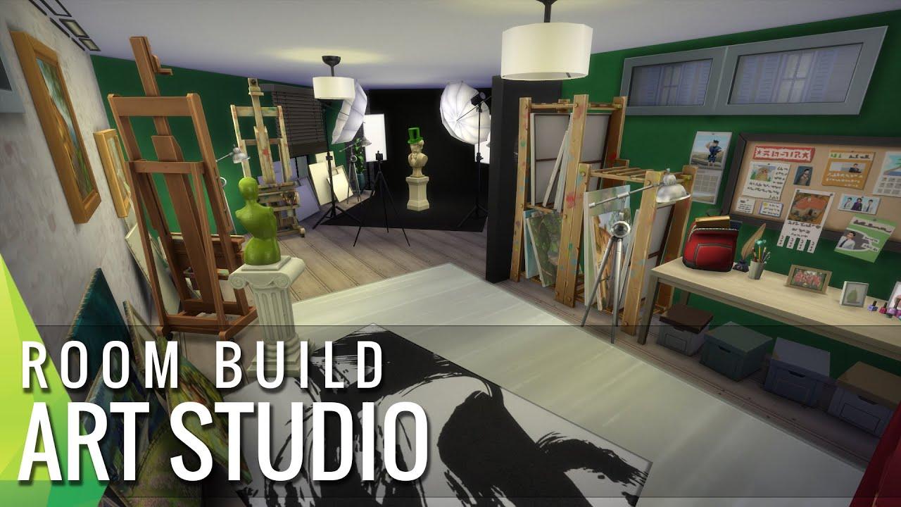 Sims 4 Art Studio