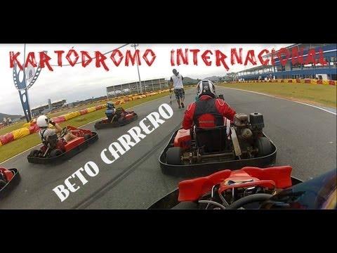 RICK BULL- BETO CARRERO-SPEED KART ON-BOARD GOPRO 23/01/2013