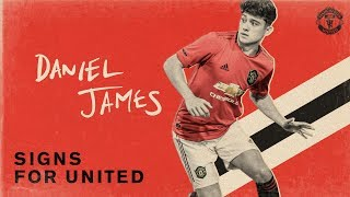 Manchester United | Daniel James Signs For United!