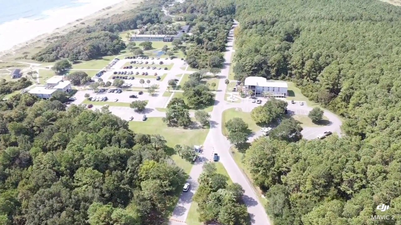 Huntington Beach State Park Campground In Murrells Inlet South Carolina Drone Flyover Youtube