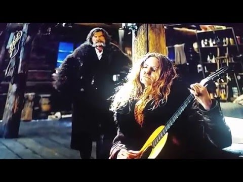 Hateful Eight song: Jim Jones at Botany Bay - Jennifer Jason Leigh (Kurt Russel breaks guitar scene)