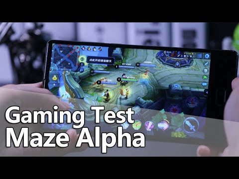 Maze Alpha Gaming Test