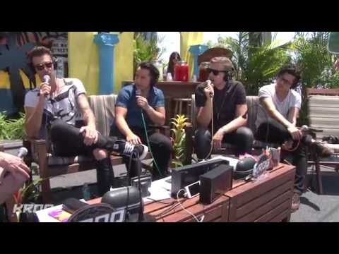 American Authors Interview - KROQ Weenie Roast 2014