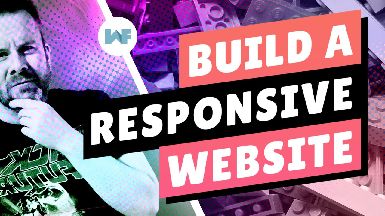 Build a Responsive Website from Scratch with HTML, CSS & JS