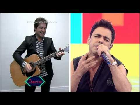 Zezé Di Camargo faz parceria com Daniel no Canja da Sabrina