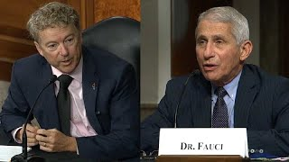 Rand Paul & Fauci Have HEATED Argument