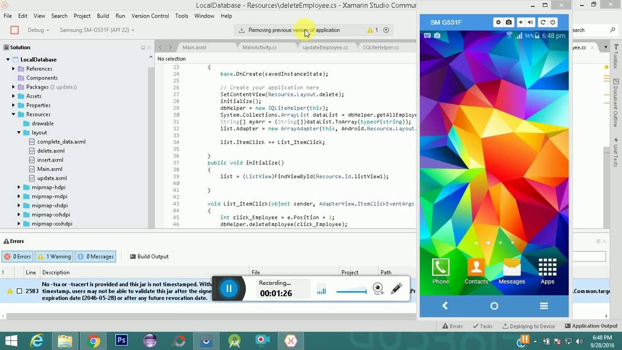maxresdefault Xamarin Forms Layout Examples on inflating entire, master-detail tablet, forms floating button absolute, android wear, forms auto, forms 2 column, android tabs, forms tabbed,