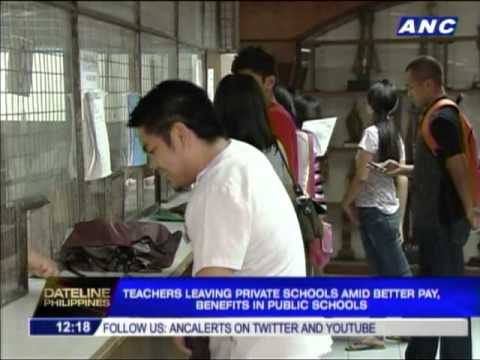 Teachers Moving To Public Schools For Higher Pay