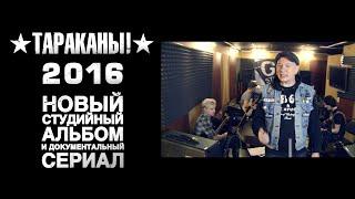 «ТАРАКАНЫ!»: запись Нового альбома и съемки Сериала на Planeta.ru