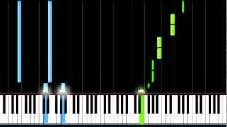 "HOW TO PLAY: ""Dive"" - Usher // [EASY] Piano Tutorial (Synthesia)"