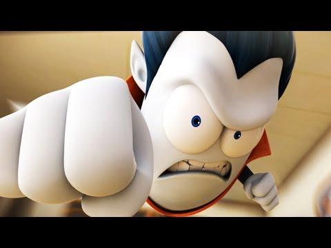 Funny Animated Cartoon   Spookiz   Super Cula   스푸키즈   Cartoon For Children