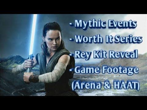 Rey Kit Reveal, Mythic Events, Worth It Series and more!!  Stream Star Wars™: Galaxy of Heroes
