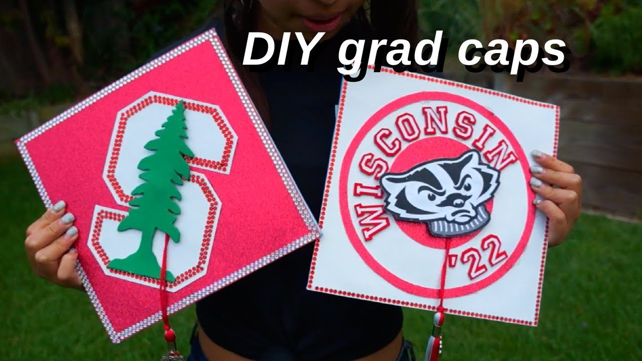 Decorating Our Graduation Caps Stanford Wisconsin University