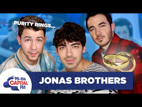 Jonas Brothers Answer Questions About Their Purity Rings 😇     Capital