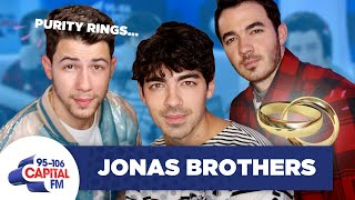 Jonas Brothers Answer Questions About Their Purity Rings 😇 | FULL INTERVIEW | Capital