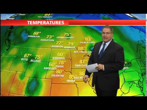 Chris' weather fill-in on KSTP