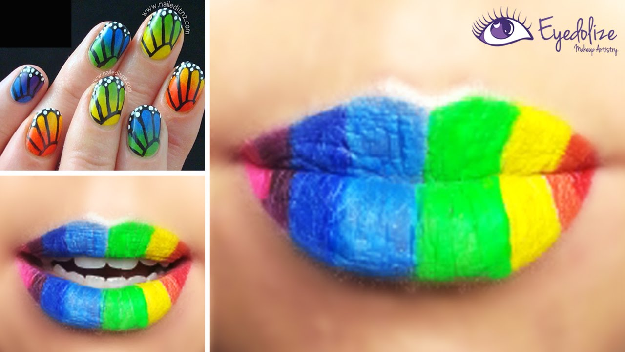 Lipstick rainbow party pictures