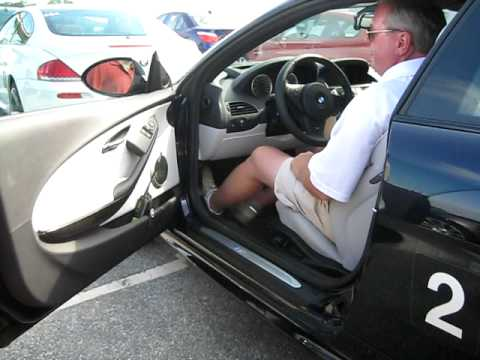 Adjusting Your Driving Position Demonstrated In An M6 One
