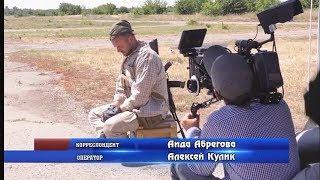 """Репортаж о съмках фильма """"Батальон"""""""