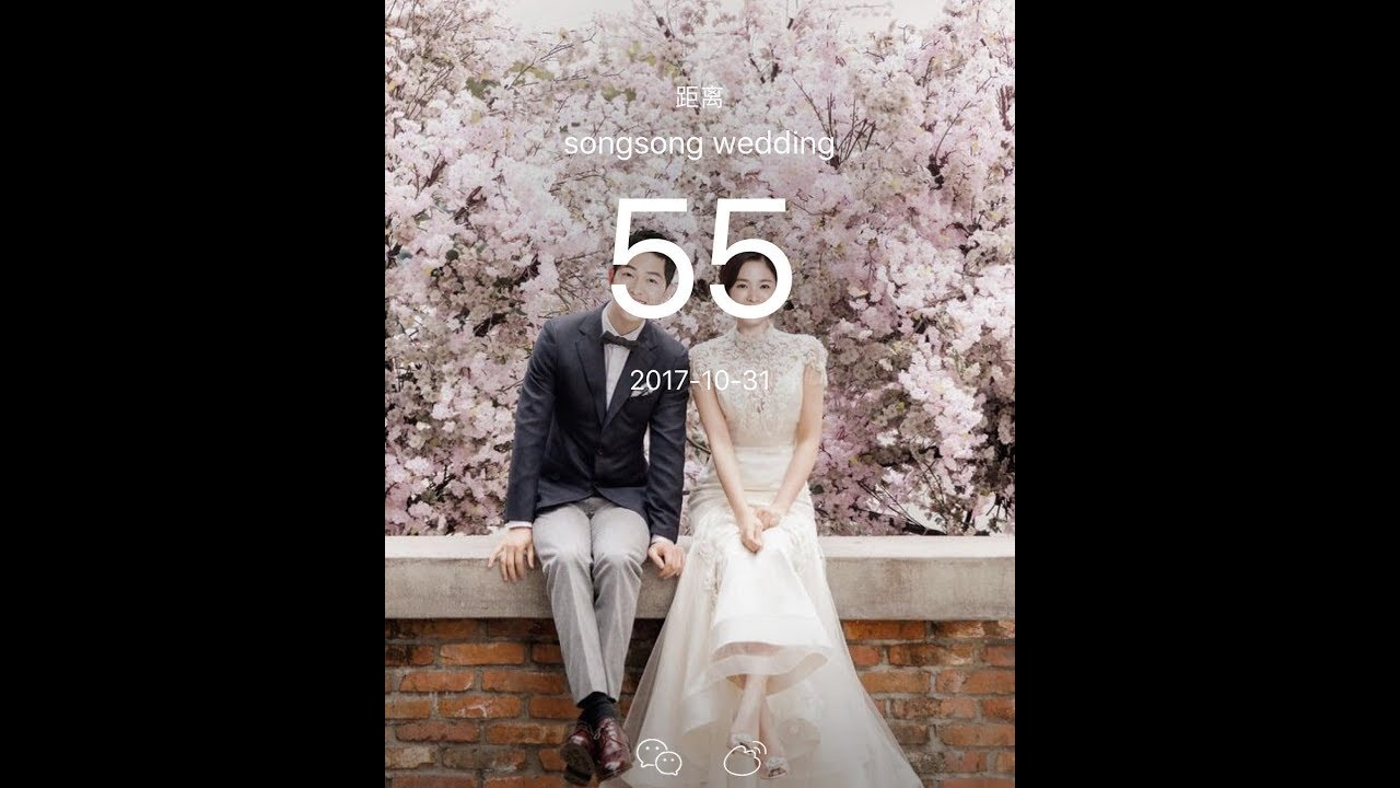 Song Joong Ki Hye Kyo Wedding Last 55 Days