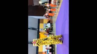慈航學校舞獅表演