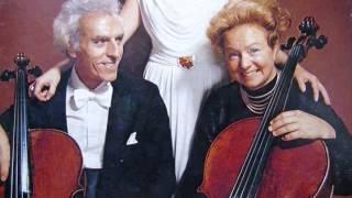 "Antonio Vivaldi ""Concerto for 2 Cellos RV 531"" Maud & Paul Tortelier"
