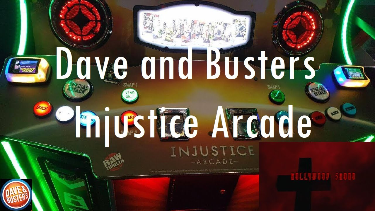 Injustice Gods Among Us Ios Dave And Busters Injustice