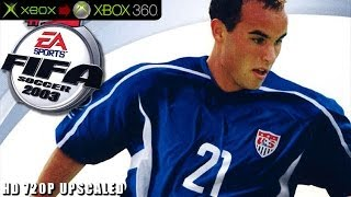 Fifa Soccer 2003 - Gameplay Xbox HD 720P (Xbox to Xbox 360)