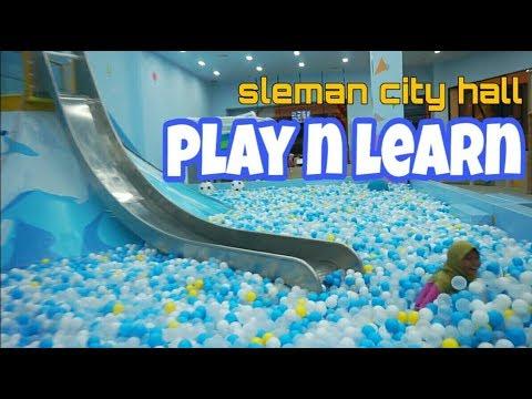 Bermain Di Playground Timezone PLAY N LEARN Mall Sleman City Hall Bersama Adik