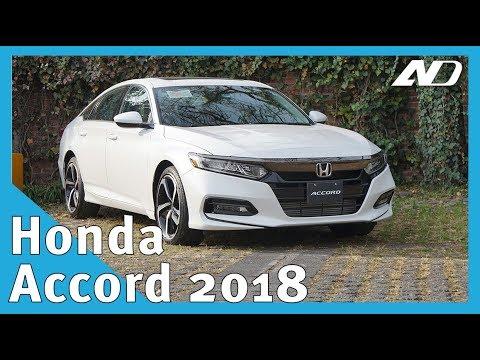 Honda Accord 2018 - Creo que tenemos nueva estrella - Primer Vistazo