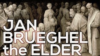 Jan Brueghel the Elder: A collection of 218 paintings (HD)