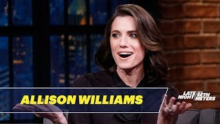 Allison Williams' Dog Tortured Her with Sleep Deprivation