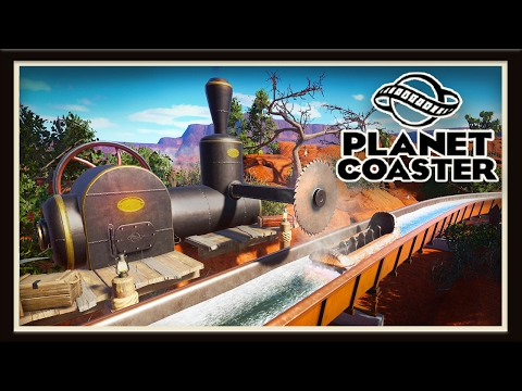 Planet Coaster: Creating Western Ride Buildings And Designs    (Season 2 - part 9)