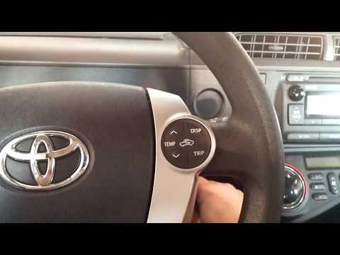 How To Reset Toyota Prius C Maintenance Required Doovi
